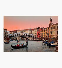 Il Bello Canal Grande Photographic Print