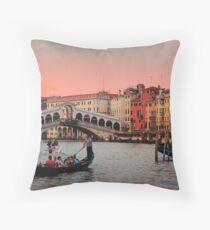 Il Bello Canal Grande Throw Pillow