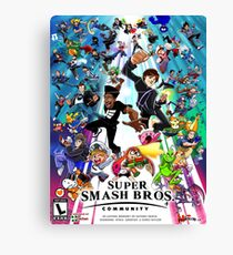 Smash Community  Canvas Print