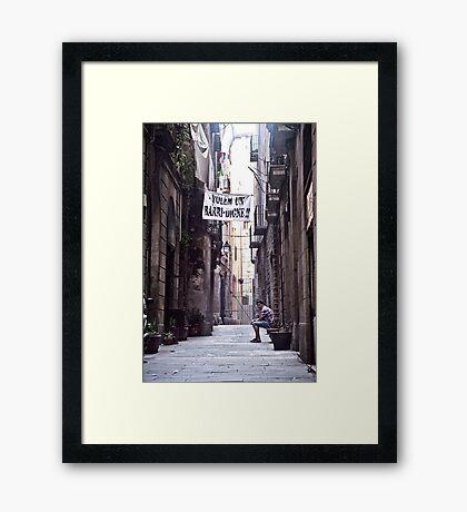 Barcelona 11 Framed Print