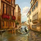 VENICE WITH BRIDGE by Judy Mastrangelo