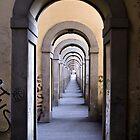 Underneath the Vasari Corridor by SpencerCopping