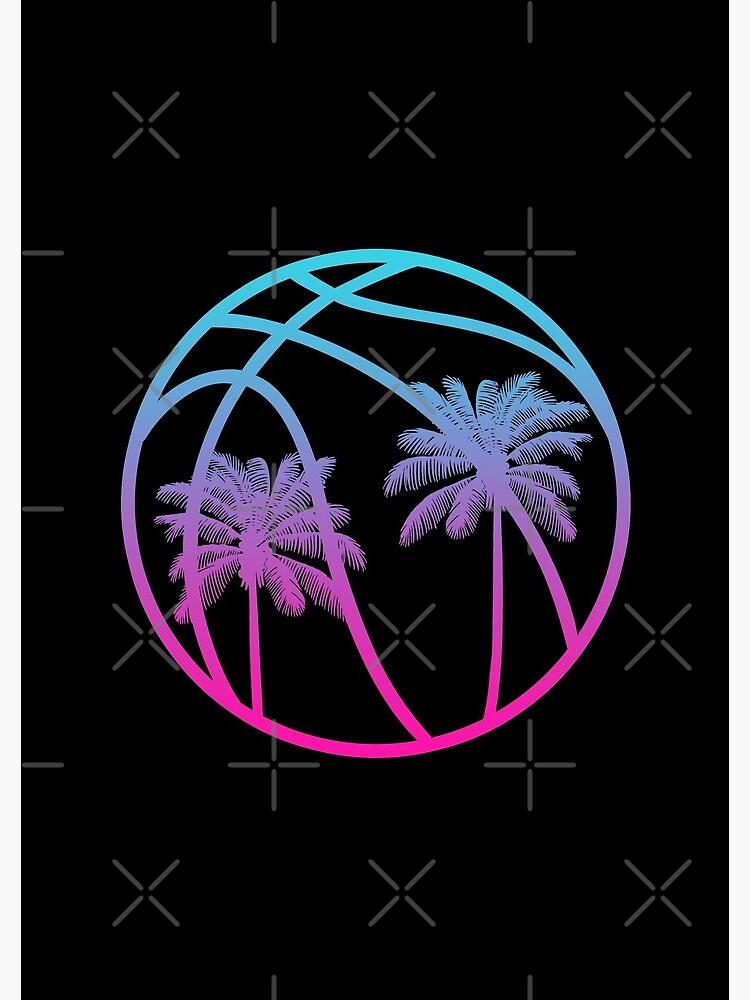 Miami Vice Basketball - Black alternate by SaturdayAC