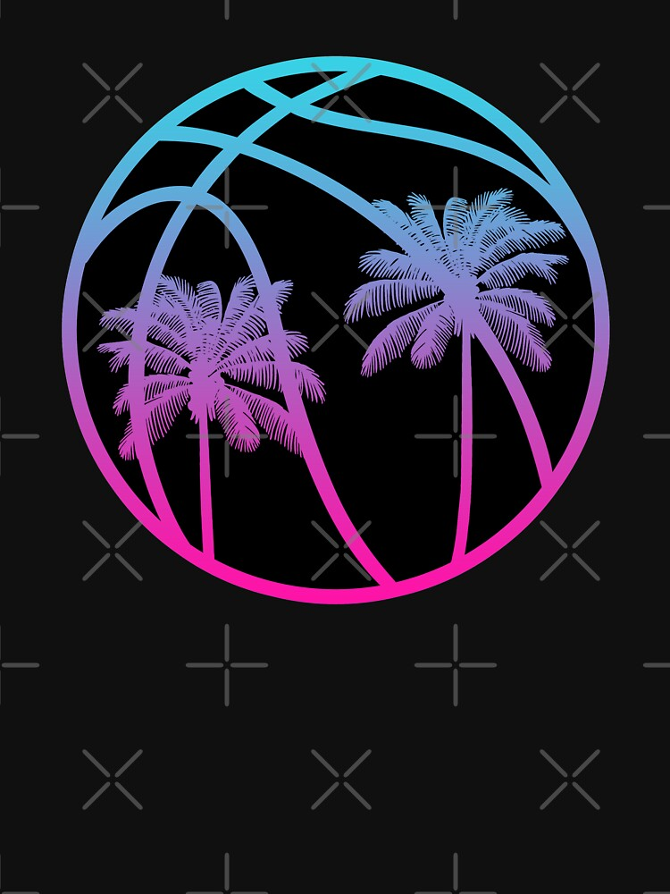 Miami Vice Basketball - Black alternate by SaturdayAC