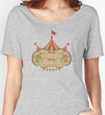 Not My Circus - Not My Monkeys - Not My Problem - Pop Culture Saying - Circus Monkeys - Mind Your Own Business Women's Relaxed Fit T-Shirt