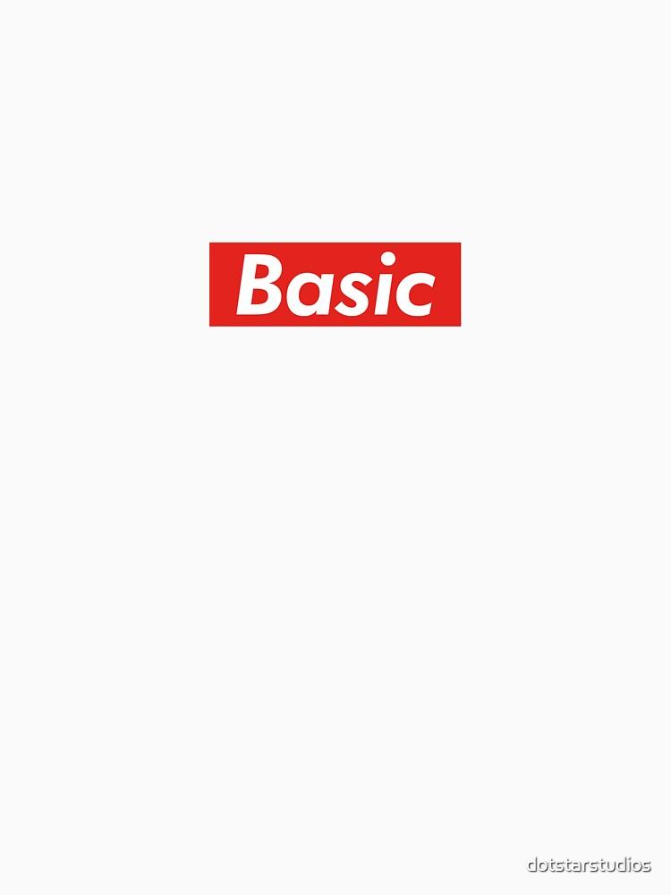 Supremely Basic by dotstarstudios