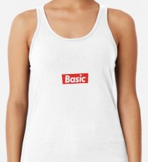 Supremely Basic Racerback Tank Top