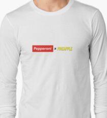 Pepperoni X Pineapple Long Sleeve T-Shirt