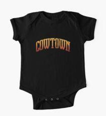 Cowtown Kansas Baby Body Kurzarm