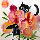 «historia del gato y el pájaro» de Marianna Tankelevich