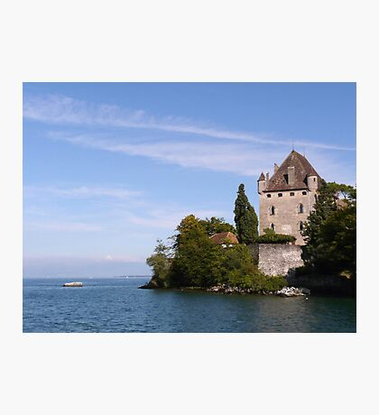 September by Lake Leman Photographic Print