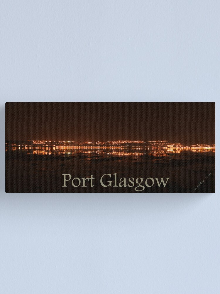 Alternate view of Port Glasgow 4 Canvas Print