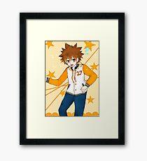 Tsunayoshi (ノ^ヮ^)ノ*:・゚✧ Framed Print
