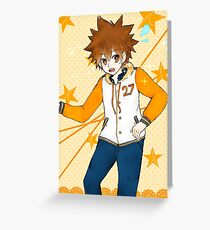 Tsunayoshi (ノ^ヮ^)ノ*:・゚✧ Greeting Card