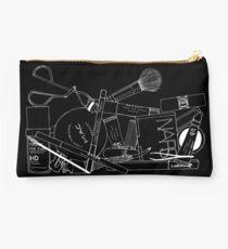 Makeup Bag Innards (black) Studio Pouch