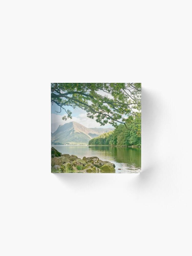 Alternate view of Buttermere, Lake District Acrylic Block