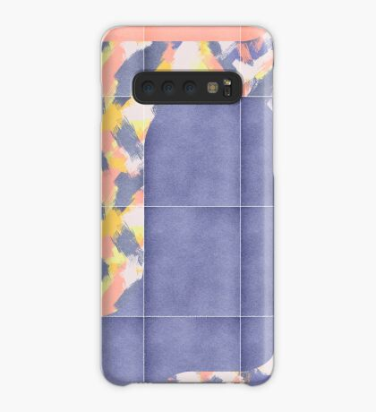 Messy Painted Tiles 02 #redbubble #midmod Case/Skin for Samsung Galaxy