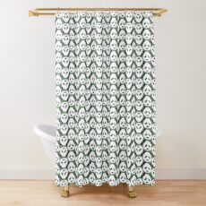Panda Party Shower Curtain