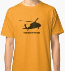 Free Kekistani Helicopter Ride Libertarian Snek Right Don't Tread on Me Style MAGA #BuildTheWall - Online Store Classic T-Shirt