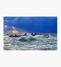 Sea Rocks  Photographic Print