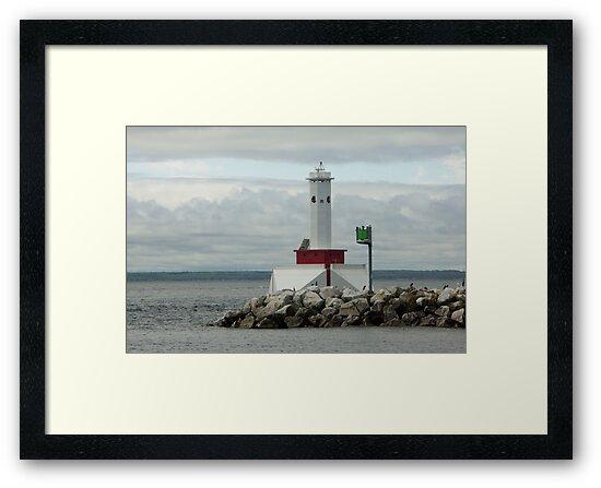 Light at Mackinac Island by Bob Hardy