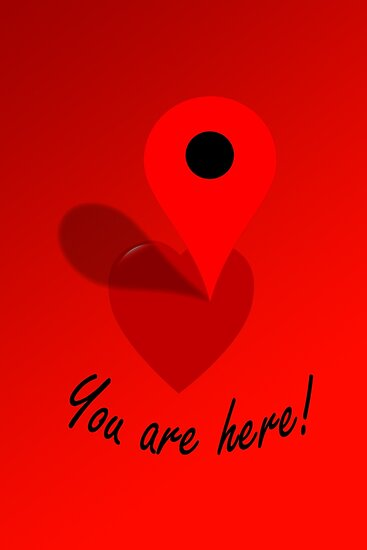 You Are Here! by Paul Gitto