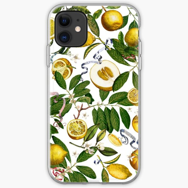 Lemon Tree - White iPhone Soft Case