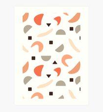 Geometrisches Gleichgewicht #geometrische #Muster #Formen Kunstdruck