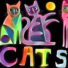 Kooky cats  by Karin Zeller