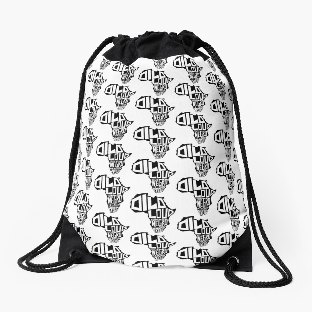 DILO LOUD: Africa Third Culture Series Drawstring Bag