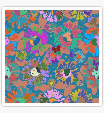 Pop Butterflies I Glossy Sticker