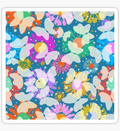Pop Butterflies II Glossy Sticker