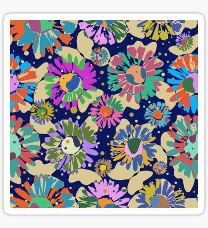 Pop Butterflies III Glossy Sticker