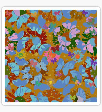 Pop Butterflies IV Glossy Sticker