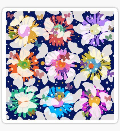 Pop Butterflies VI Glossy Sticker