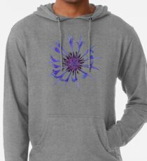 Thin blue flames in a sea of green Lightweight Hoodie