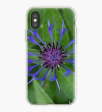 Thin blue flames in a sea of green iPhone Case
