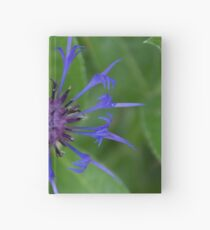 Thin blue flames in a sea of green Hardcover Journal