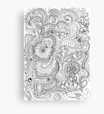 Chaotic Cannibalism Canvas Print