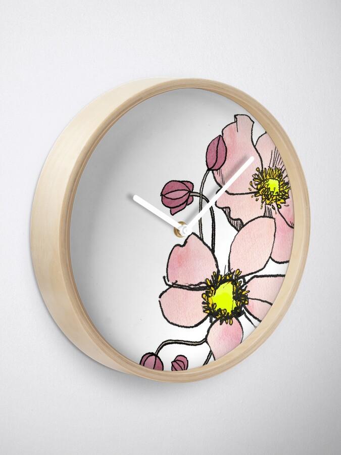 Alternate view of Anemone Clock
