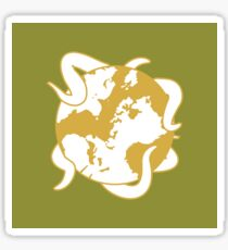 The Princess And The Orrery icon Sticker