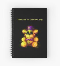 Five Nights at Freddy's - FNaF 4 - Tomorrow is Another Day Spiral Notebook