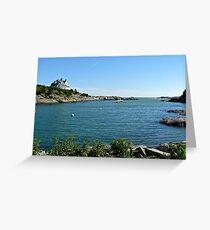 Goose Neck Cove - Newport - Rhode Island Greeting Card