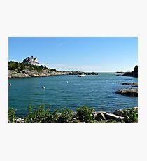 Goose Neck Cove - Newport - Rhode Island Photographic Print