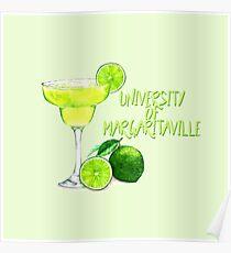 Universität von Margaritaville Poster