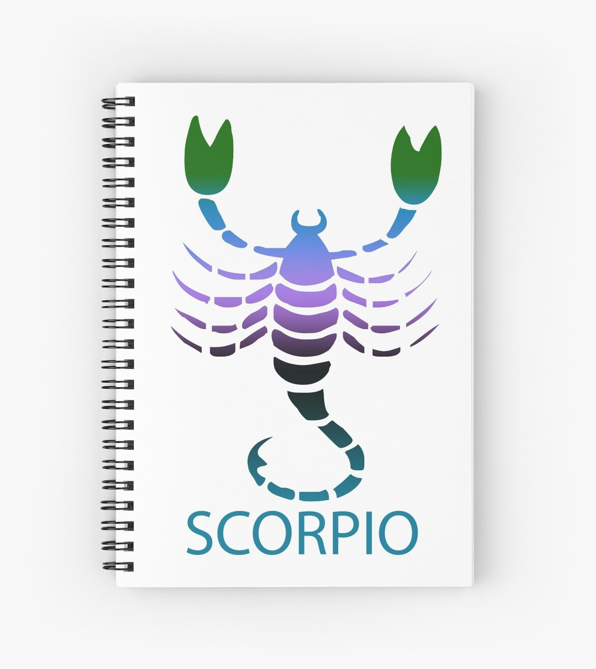 Colorful Zodiac sign - Scorpio by Smaragdas