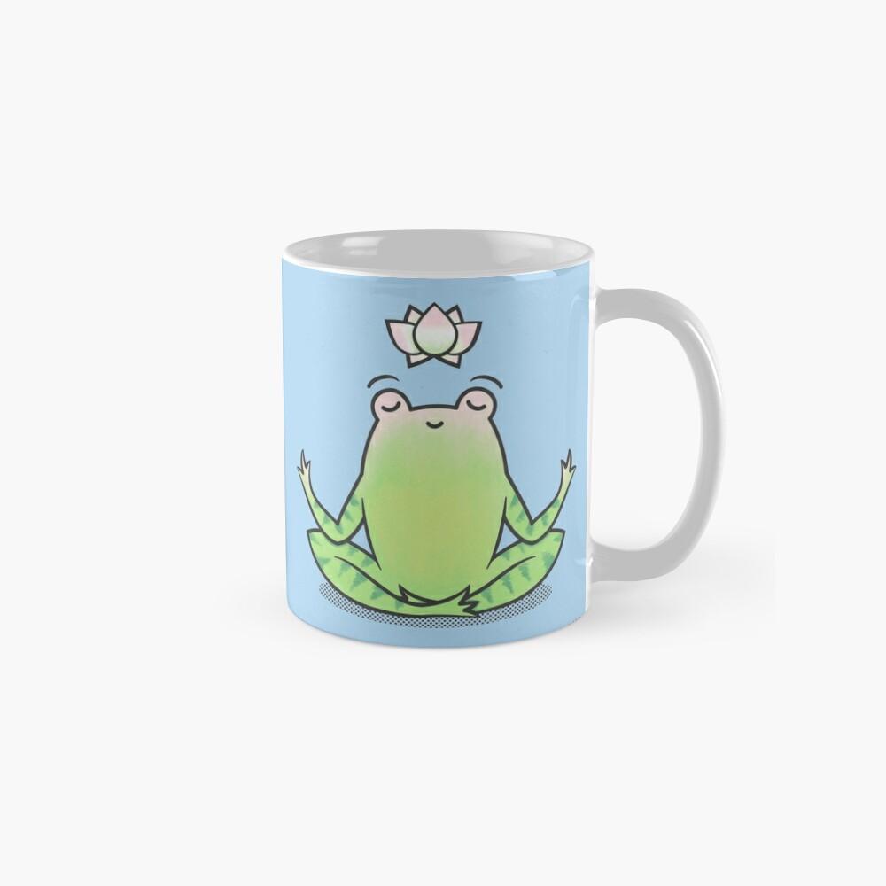 Zen Yoga Frog  Mug