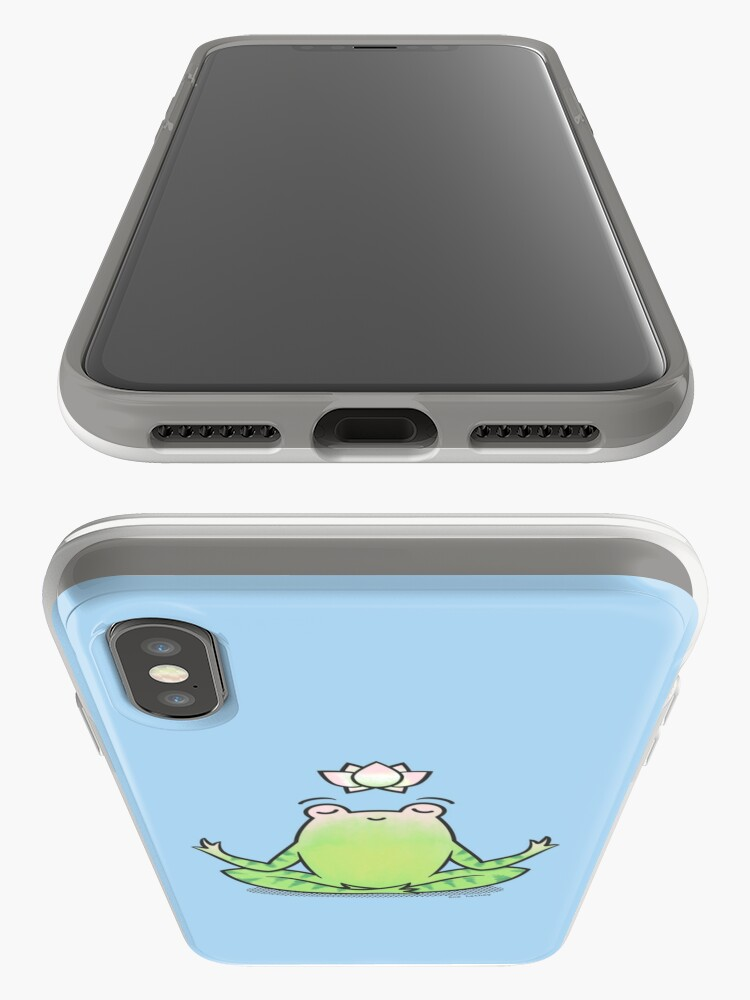 Alternate view of Zen Yoga Frog  iPhone Case & Cover