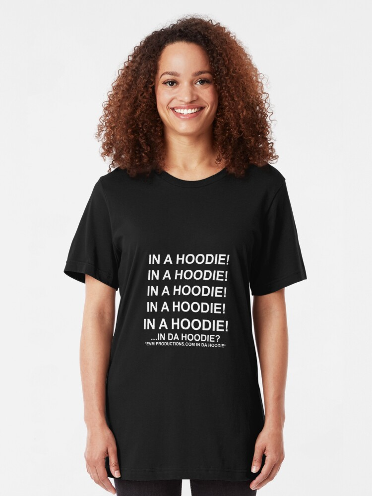 Alternate view of In a Hoodie... Slim Fit T-Shirt