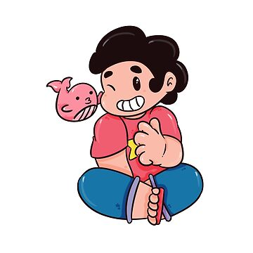 Steven and His Whale by koartss